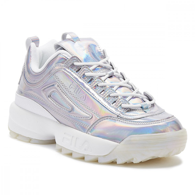 Fila Disruptor II Iri Womens White / Multi Trainers productafbeelding
