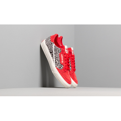 adidas Continental Vulc (Scarlet / Ftwr White / Off White) productafbeelding