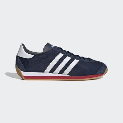 adidas Country OG (Collegiate Navy / Ftwr White / Scarlet) productafbeelding