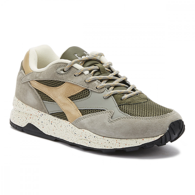 Diadora Eclipse Premium Mens Lace Grey Trainers productafbeelding