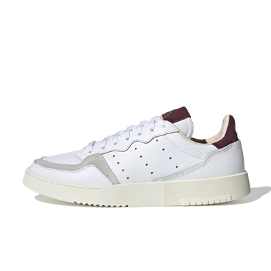 adidas Supercourt W 'White/Maroon' productafbeelding