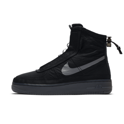 Nike WMNS Air Force 1 Shell 'Black' productafbeelding