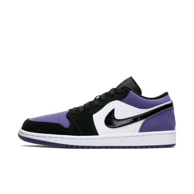 Air Jordan 1 Low 'Purple Toe' productafbeelding