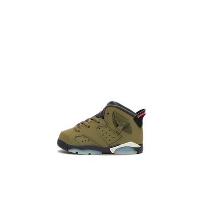 Travis Scott X Air Jordan 6 TD 'Medium Olive' productafbeelding