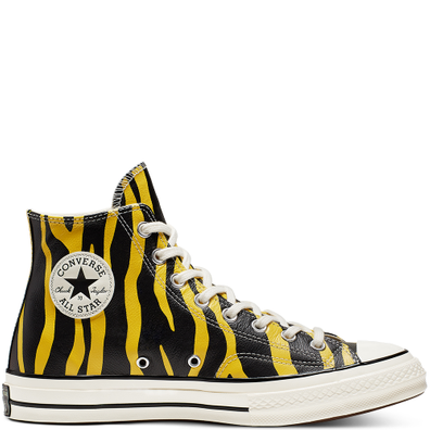 Unisex Leather Archive Prints Chuck 70 High Top productafbeelding