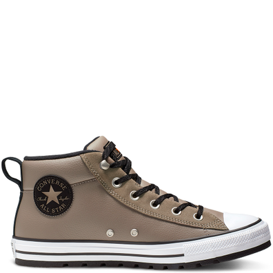 Unisex Converse Chuck Taylor All Star Street Leather Mid Top productafbeelding