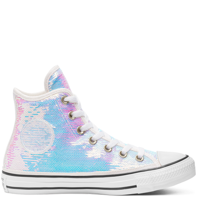 Womens Mini Sequins Chuck Taylor All Star High Top productafbeelding