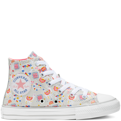 Big Kids Llama Party Chuck Taylor All Star High Top productafbeelding