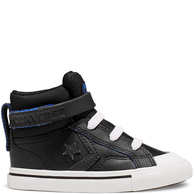 Toddler Two-Tone Leather Pro Blaze Strap High Top productafbeelding