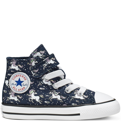 Toddler Unicons Hook and Loop Chuck Taylor All Star High Top productafbeelding