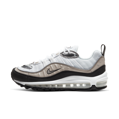 Nike WMNS Air Max 98 'Black/Silver' productafbeelding