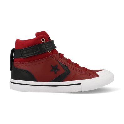 Converse All Stars Pro Blaze Strap 665290C Rood / Zwart / Wit productafbeelding