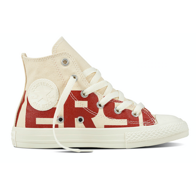 Converse All Stars SE 359532c Creme Rood productafbeelding