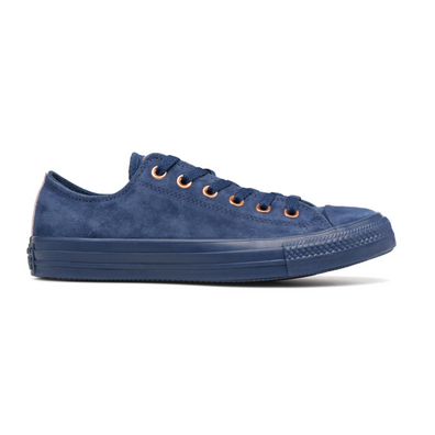 Converse All Stars Suede 161205C Blauw productafbeelding