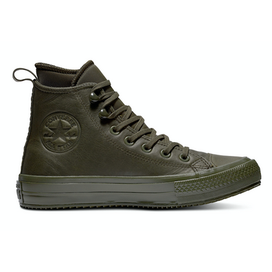 Converse All Stars Hoog Leather Waterproof 162501C Groen productafbeelding
