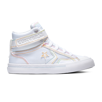 Converse All Stars Senior Rainbow Stitch 665284C Wit productafbeelding
