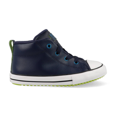 Converse All Stars Chuck Taylor Street Boot 766008C Blauw / Groen / Wit productafbeelding