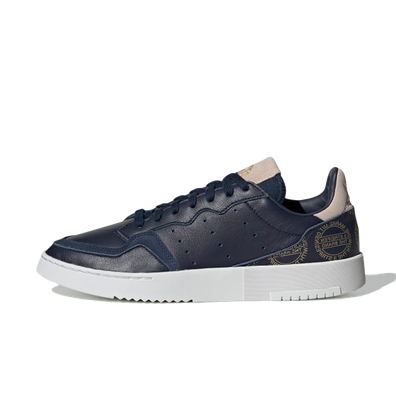 adidas Supercourt 'Home of Classics' Navy Gold productafbeelding
