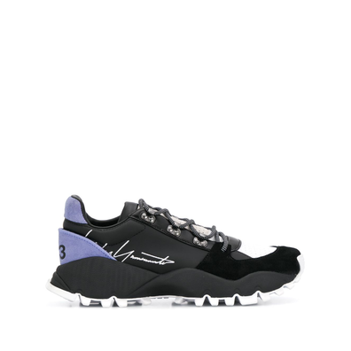 Y-3 signature-logo low-top trainers productafbeelding