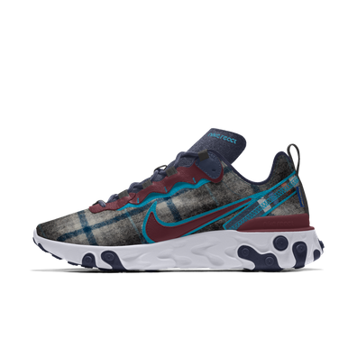 Nike React Element 55 Pendleton By You Custom productafbeelding