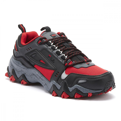 Fila Oakmont Trail Mens Red / Black Trainers productafbeelding