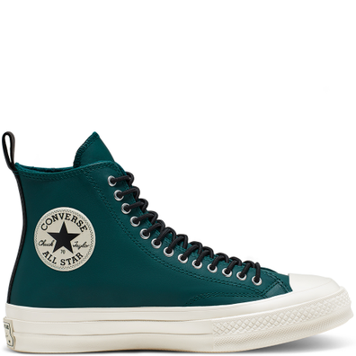Unisex Fleece-Lined Leather Chuck 70 High Top productafbeelding