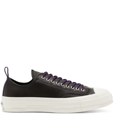 Unisex Fleece-Lined Leather Chuck 70 Low Top productafbeelding