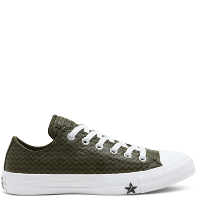 Leather Chevron Chuck Taylor All Star productafbeelding