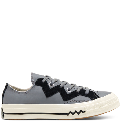 Womens Leather and Chevron Chuck 70 Low Top productafbeelding
