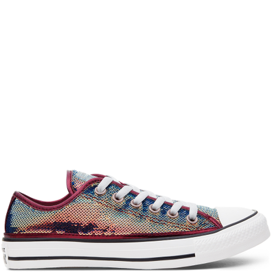 Womens Mini Sequins Chuck Taylor All Star Low Top productafbeelding