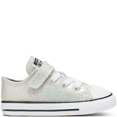 Coated Glitter Hook and Loop Chuck Taylor All Star productafbeelding