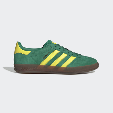 adidas Gazelle Indoor (Bold Green / Bright Yellow / Gum5) productafbeelding