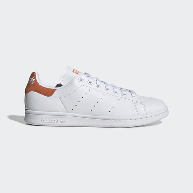adidas Stan Smith (Cloud White / Semi Coral / Cloud White) productafbeelding