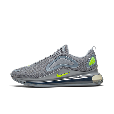 Nike Air Max 720 (Cool Grey / Volt - Electric Green - Black) productafbeelding
