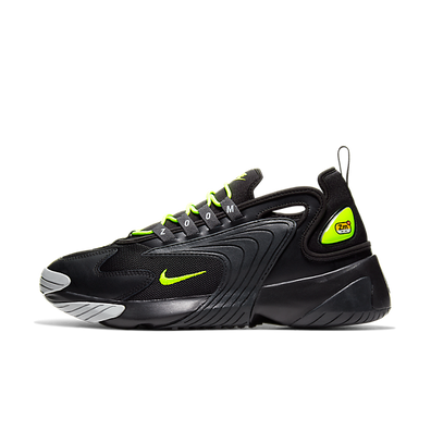 Nike Zoom 2K (Black / Volt - Anthracite - Wolf Grey) productafbeelding