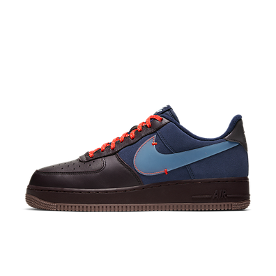 Nike Air Force 1 PRM (Burgundy Ash / Celestine Blue) productafbeelding