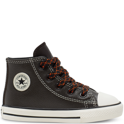 Toddler Tumbled Leather Chuck Taylor All Star High Top productafbeelding