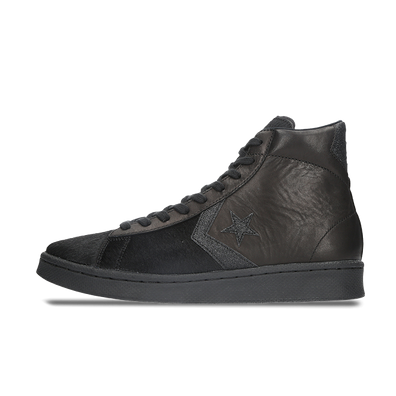 Converse Incubate Pro Leather High 'Black Pony' productafbeelding