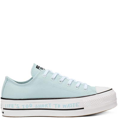 Womens Renew Canvas Chuck Taylor All Star Platform Low Top productafbeelding
