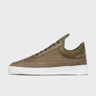 Filling Pieces Low Top Ripple Cairos Army Green productafbeelding