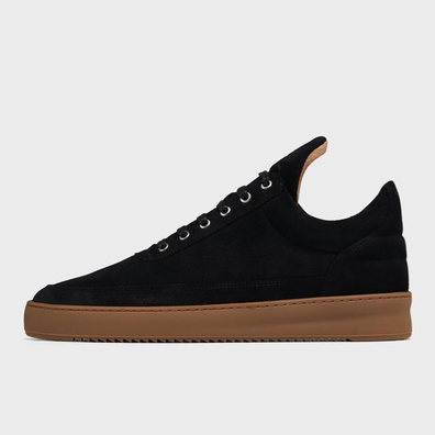 Filling Pieces Low Top Ripple Gum Black productafbeelding