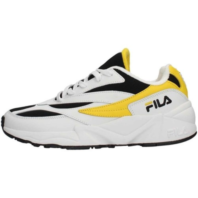 Fila V94M Low WMNS White / Empire Yellow / Black productafbeelding