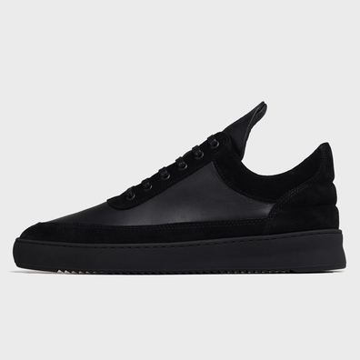 Filling Pieces Low Top Ripple Ejura All Black productafbeelding