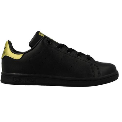 Adidas Stan Smith C Core Black / Gold Metallic productafbeelding