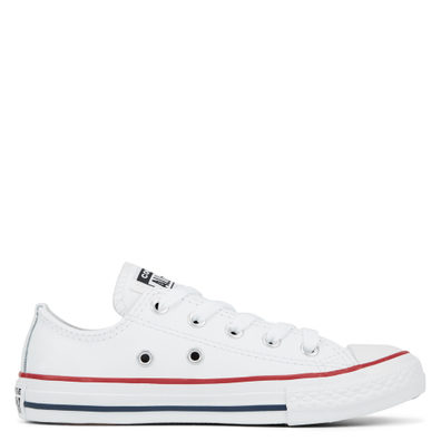 Little Kids Leather Chuck Taylor All Star Low Top productafbeelding
