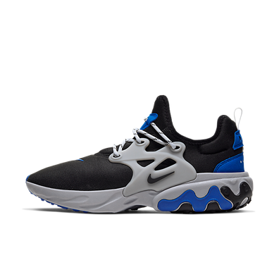 Nike React Presto (Black / Black - Racer Blue - Atmosphere Grey) productafbeelding