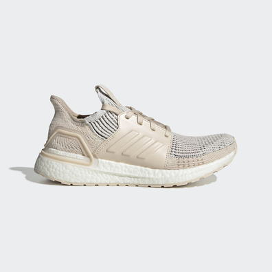 adidas UltraBOOST 19 w Crystal White/ Brown/ Linen productafbeelding