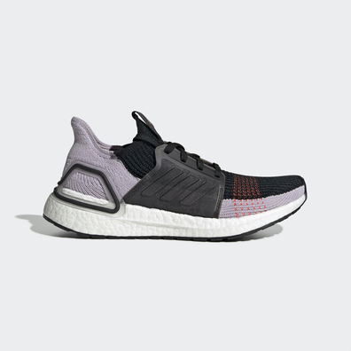 adidas UltraBOOST 19 w Core Black/ Soft Vision/ Solar Red productafbeelding