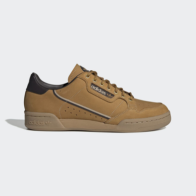 adidas Continental 80 Mesa/ Night Brown/ Eqt Yellow productafbeelding