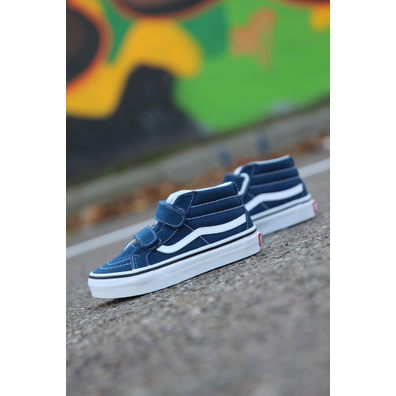 Vans Sk8-mid re v gibratal/blue ps productafbeelding
